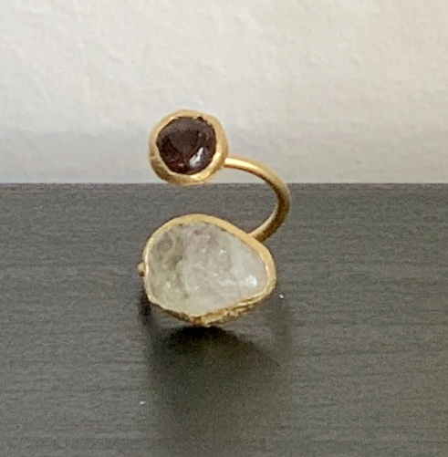 citrien onyx ring