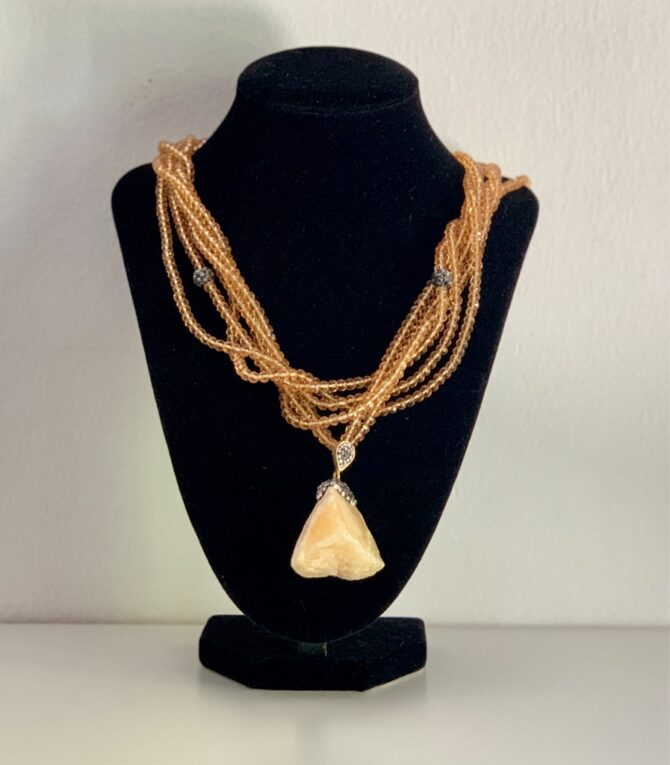 ketting necklace stone