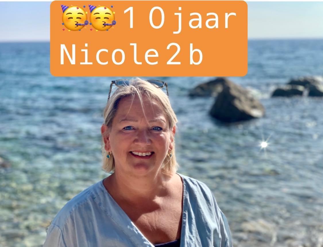 10 jaar Nicole2b en dat vieren we