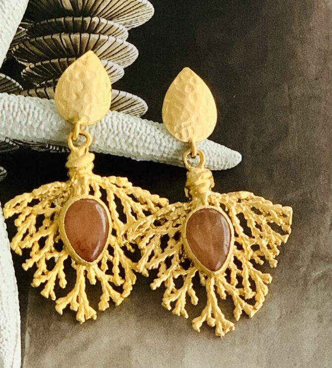gold plated earring