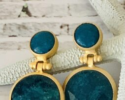apatiet earring goldplated